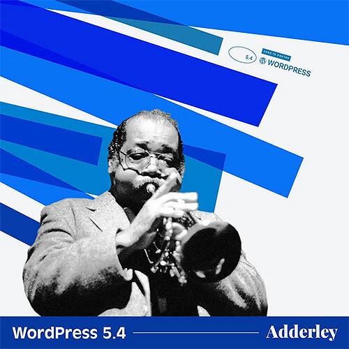 WordPress 5.4 Adderley